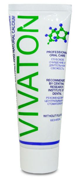 Зубная паста «ВИВАТОН» классический (с кальцием)